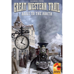Great Western Trail: Rails to the North (eng. regler)