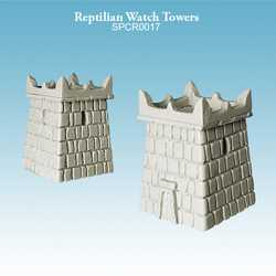 Reptilians Watch Towers