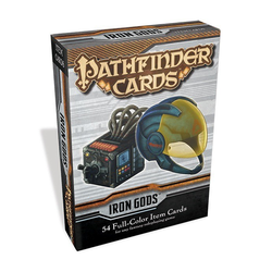 GameMastery Cards: Iron Gods Adventure Path Item Cards Deck