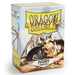Dragon Shield Sleeves - Standard Matte Ivory (100 ct. in box)