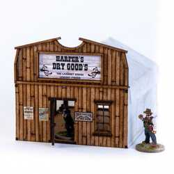 28mm Dead Mans Hand: Camp Town Harper's Dry Goods