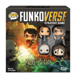 Funkoverse Strategy Game: Harry Potter 4-Pack (eng. regler)