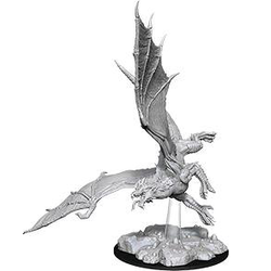 Nolzur's Marvelous Miniatures (unpainted): Young Green Dragon