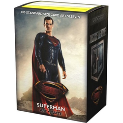 "Dragon Shield Sleeves - Standard Art Sleeves ""Justice League - Superman"" (100 ct. in box)"
