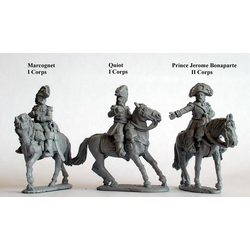 French Mounted Generals of Division and Brigade