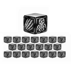 Cthulhu Wars: Battle Dice Silver (20)
