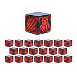 Cthulhu Wars: Battle Dice Red (20)