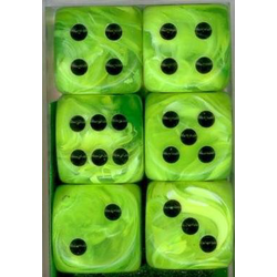 Vortex™ Bright Green/Black (12-die set)