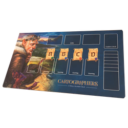 Cartographers: Playmat BLUE