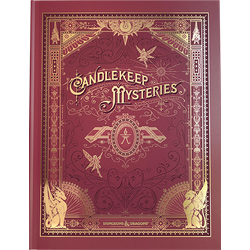 D&D 5.0: Candlekeep Mysteries (ltd ed cover)