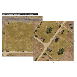 World of Tanks Miniature Game: Summer Game Mat - Prokhorovka