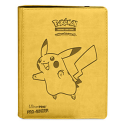 Ultra Pro PRO-Binder 9-Pocket Premium Pokemon Pikachu