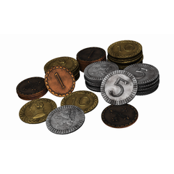 Clans of Caledonia: Metal Coins (70)