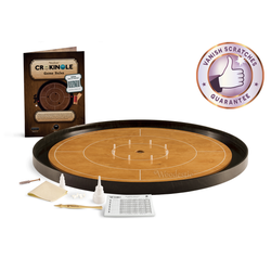 Crokinole Tournament Set (beech/ebony)