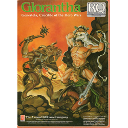 Runequest, 3d Ed: Glorantha: Genertela, Crucible of the Hero Wars, 1988