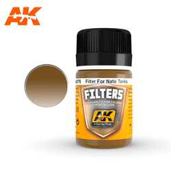 Filter: Dark Brown for Nato and Green (35ml)