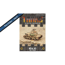 TANKS: Italian M14/41 Tank Expansion