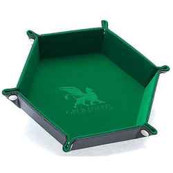 Dice Tray Hexagon Series: Green