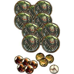 Torg Eternity: Living Land - Minions of Baruk Kaah Threats Tokens