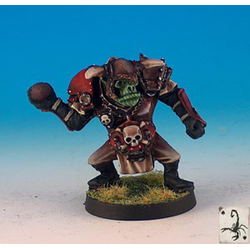 Fantasy Football Orcs - Thrower (Black Scorpion)