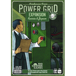 Power Grid: Russia & Japan Expansion
