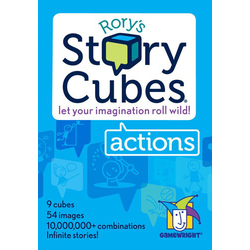 Rory's Story Cubes: Actions (eng. regler)