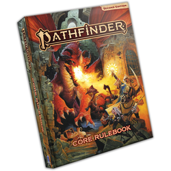 Pathfinder RPG: Core Rulebook (2nd standard ed, hardback)