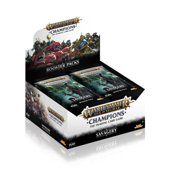 Warhammer Age of Sigmar: Champions - Wave 3 Savagery Booster Display (24)