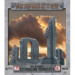 Battlefield in a Box: Hall of Heroes - Crumbling Remnants (dark stone)