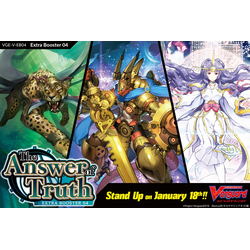 Cardfight!! Vanguard: The Answer of Truth Booster Display (12 booster packs)