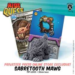 Riot Quest: Sabretooth Mawg (Online Exclusive)