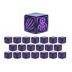 Cthulhu Wars: Battle Dice Purple (20)