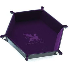 Dice Tray Hexagon Series: Purple