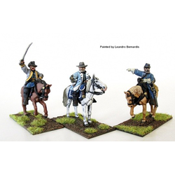 Perry Miniatures: Confederate Generals mounted
