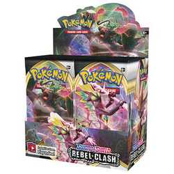 Pokemon TCG: Sword & Shield 2 Rebel Clash Booster Display (36 boosters)