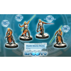 Yu Jing - Shaolin Warrior Monks (Box of 4)