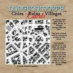 DungeonMorph Cards: Cities, Ruins, and Villages