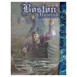 Mage: The Awakening: Boston Unveiled, Inbunden