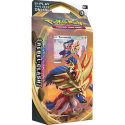 Pokemon TCG: Sword & Shield 2 Rebel Clash Theme Deck Zamazenta