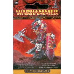 Blades of Khorne Exalted Deathbringer with Bloodbite Axe (finecast)